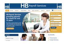 HB Payroll Services / A board for a professional payroll bureau