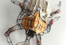 Insecten van ijzerdraad