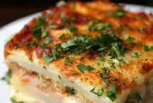 Auflauf und Lasagne