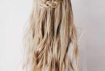 Konf hår