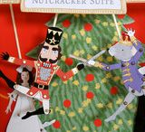 Nutcracker Ballet music lesson ideas for children / Nutcracker puppets, books, music for teaching children about the Tchaikovsky Ballet