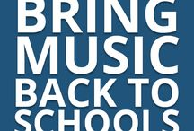 """Bring Music Back To Schools / Music develops a widespread neural network that supports and enhances learning all core subjects and the importance of """"music integrated education"""" across all curriculum K-12"""