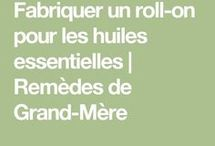 Roll-on huiles essentielles