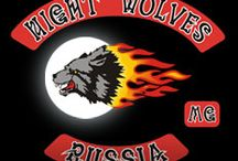 """Night Wolves - Ночные Волки / """"Night Wolves"""" - which existed from 1989 to 2015 first. Official Soviet biker club that exists to this day in Russia as recorded in 1995, a non-profit public organization """"Russian riders."""" Has Bike Center in Nizhny Mnevniki in Moscow. A member of the Russian association of bikers."""