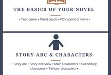 Writing a Novel | Tips / Though I am exploring other forms of writing as an income generating activity, I want to write fiction! I have no idea how to go about writing a novel, so I am saving helpful writing hacks for you and me to enjoy and learn from!