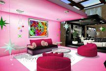 Rooms for Teen Girls / by Naomi Vivas