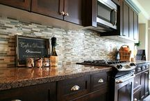 Back splash Ideas  / Kitchen & Bathroom Back Splash Ideas