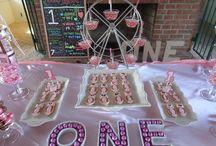 Pink tutu Candy buffet