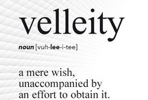 Vocabulary / Words