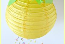 Pineapple Party / pineapple party fun with lots of party ideas, decorations, and favors.