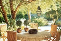I'd like to be sitting there / Beautiful places to sit and contemplate the garden