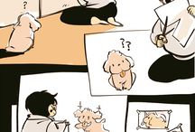 Makkachin & Vicchan / Victor's cute dog- Makkachin Yuri's cute death dog- Vicchan