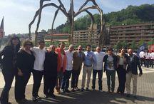 Masterchef / Josemi Olazabalaga en MasterChef3 en Bilbao junto a otros cocineros de Bizkaia.