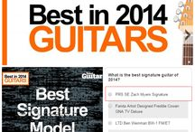 Vote for Zach Myers PRS SE Signature in Total Guitar's Readers Poll for Best Signature Model!