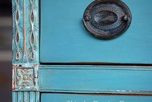 Furniture Fun!  / DIY and creative ways to re-do a good thrifty find!  / by Amy Davis