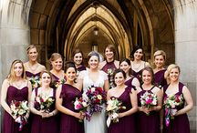 Large Bridal Party Posing Ideas