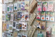 Quilt Shops Around the World / Quilt shops to visit around the world