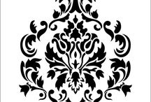 Patterns / It's patterns and designs to help you, stencils.
