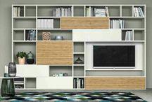Bookcase_Tv set