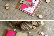 Invitation Inspiration / by Natalie Fajardo