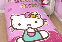 Hello Kitty / All of the Hello Kitty Products you can find, currently available on the Playrooms website, from Duvet covers to inflatable chairs