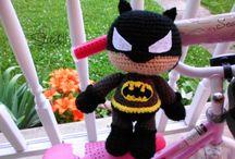 batman a crochet
