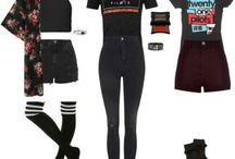 Outfits•black••_