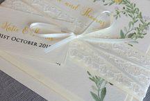 Floral Wedding Invitations & Stationery / Floral wedding invitations
