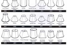 Lamp Shade and Lighting Tips and Tricks. / Replacing a lamp shade can be more difficult than it needs to be. Here are a few tricks we use as well as some lingo to use that will make you sound like a pro!