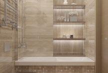 Travertin Bathroom