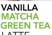 .vanilla green tea