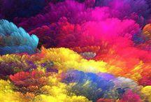 Kleurijke wolken