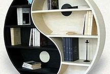 Book Stores & Book Shelves & Bookcases, Oh My! / by Melissa Flora