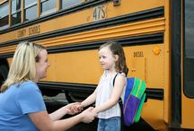 First day of Kindergarten :( / by Ashley Berry