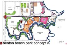 Планировка парка