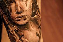 vintronic tattoo art / tattoo art