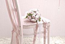retro pink chair