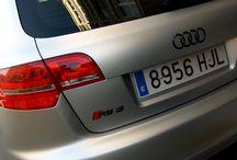"""Audi RS3 - Integral en Gris Claro Mate Metalizado Car Wrapping by Pronto Rotulo since 1993 / Audi RS3 en Negro Brillante vs Gris Claro Metalizado Mate, con cual te quedas? En este video tienes un claro ejemplo de cómo se hace (behind the scenes) en este espectacular Audi RS3 vinilado integramente en materiales especiales """"wrap"""" de la marca MacTac en alta duración. + info en https://www.facebook.com/prontorotulo  / by Pronto Rotulo"""