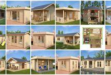 Log cabins   summer house blog