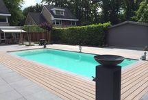 zwembad in de tuin / Vakantie aan huis met uw eigen zwembad