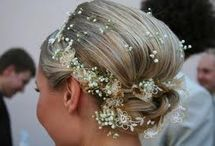 Wedding Hair / Whether you decide to have an up-do, a braid or wear it curly your wedding hair will ultimately complete your look and make you feel more beautiful than ever.