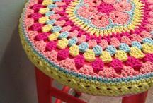 objetos com crochet