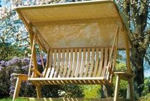 Garden Swing Seats /  A garden swing seat is the perfect way to swing all of your stresses and troubles away; you can relax in one of our  2 seater swing seats, or even in a 3-seater swing seat!