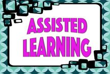 Assisted Learning / Items for ESL, SPED, 504 and anything to do with assisting those with learning difficulties