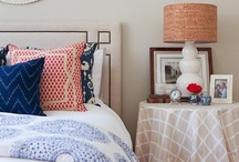 Bedside Styling / Bedside table vignettes and styling