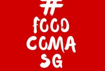 #FoodComa in Singapore / When you ate too much cuz the food in Singapore was soooooo good....  #foodcomaSG