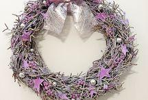 Christmas Wreath/Новогодние венки / Новогодние венки из любых материалов.