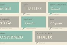 Graphic Design / graphic design, typography, etc.  / by Valerie Naas