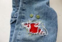 fixing jeans