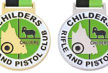 Sport Shooting Medals / Medals Australia - Sport Shooting Medals Customised Medals and Lanyards for your club. #ShootingMedals